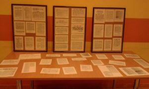 """Izložba """"Jakovljani i jakovljanski kraj u novinskim člancima 1848. - 1914."""""""
