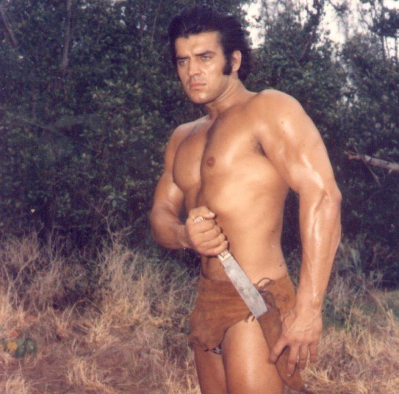 Stjepan Šipek kao Tarzan