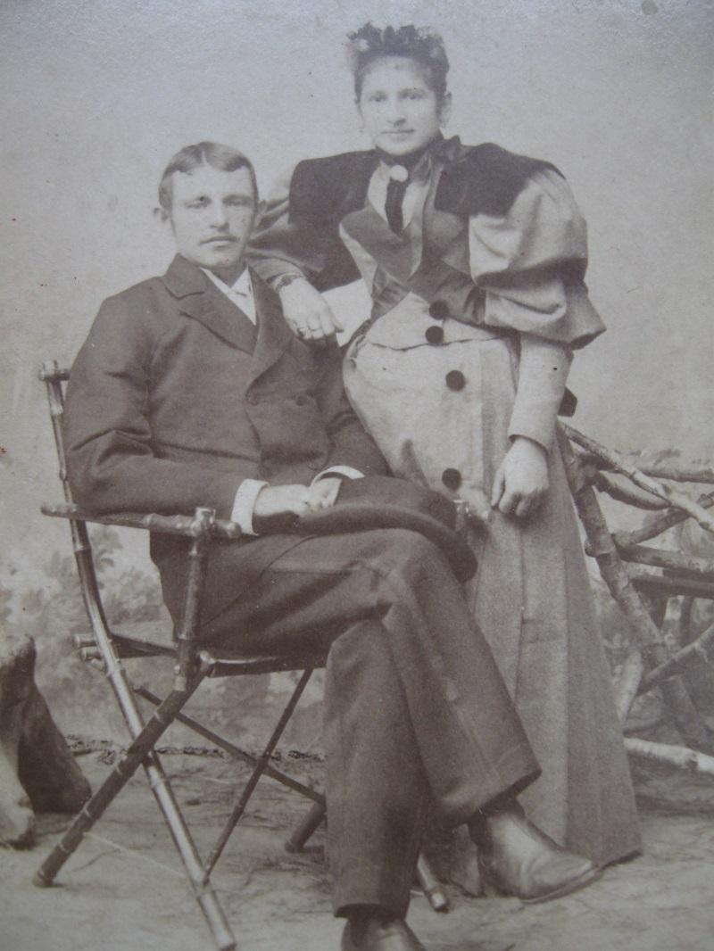 Cecilija i Albert Spitzer kao mladi par