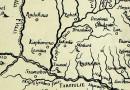 Jakovlje na karti J. W. Valvasora iz 1689. godine