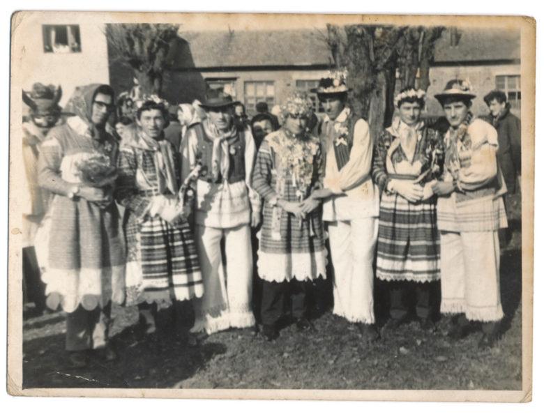 Svatovi na fašniku, jakovlje, 1970. godine