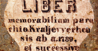 Iz Spomenice župe Kraljev Vrh: Povérenstvo (1867.)