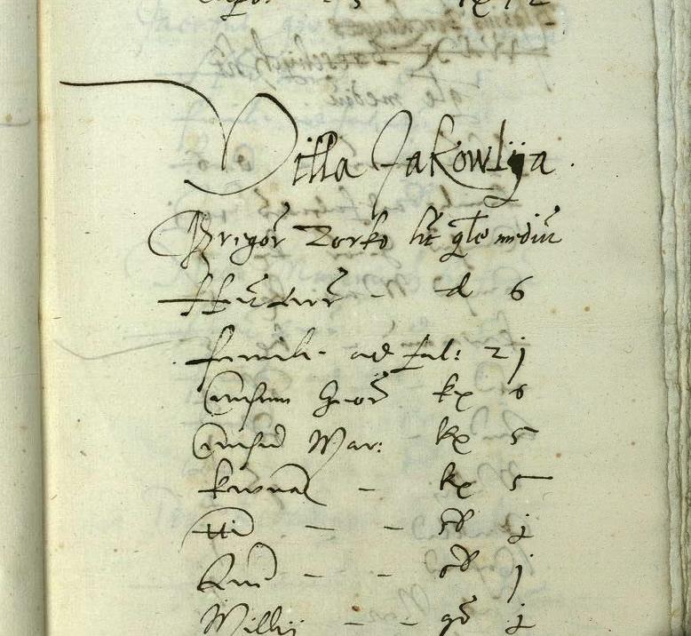 Regestum universorum Bonorum Villarum, et Colonorum Arcis Zomzedvara Tempore Provisoratus Egr. Stephani Gerdak de Fuletincz fideliter, et dili genter conscriptum Anno 1566.