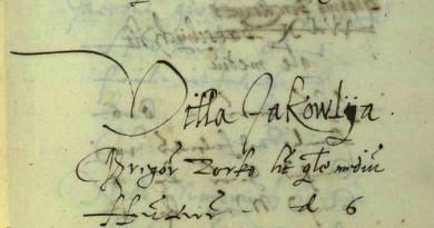 Prezimena u Jakovljanskom kraju prema poreznim popisima iz XVI stoljeća