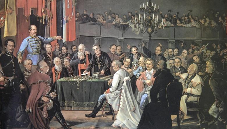 Jakovlje, 1848. godine
