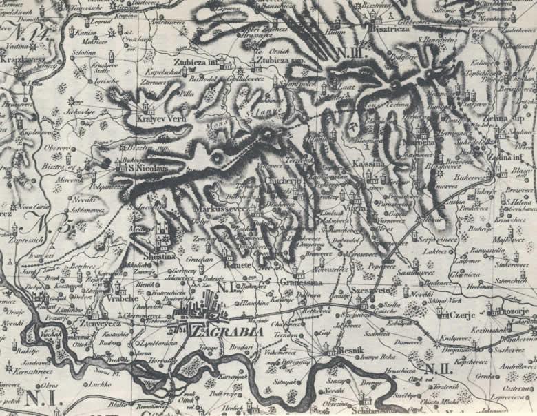 Mappa Dioecesis Zagrabiensis