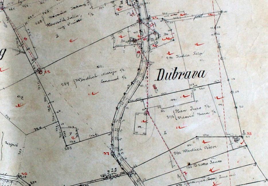 Poljski prednacrti za izradu katastarske karte, 1905. godine